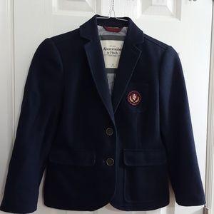 **Cropped Tweed Blazer** Jr.
